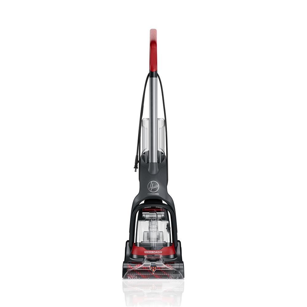 Carpet Cleaning Vacuum Hoover Professional Series Powerdash Complete Upright Carpet Cleaner