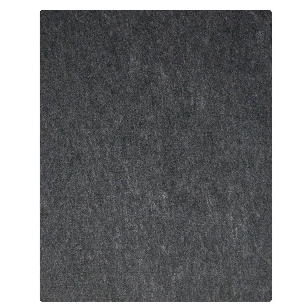 Garage Flooring For Sale 7 Ft 4 In X 17 Ft Charcoal Grey Commercial Polyester Garage Flooring
