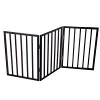 PAW 53 in. x 24 in. Wood Folding Pet Gate-80-62875 - The ...