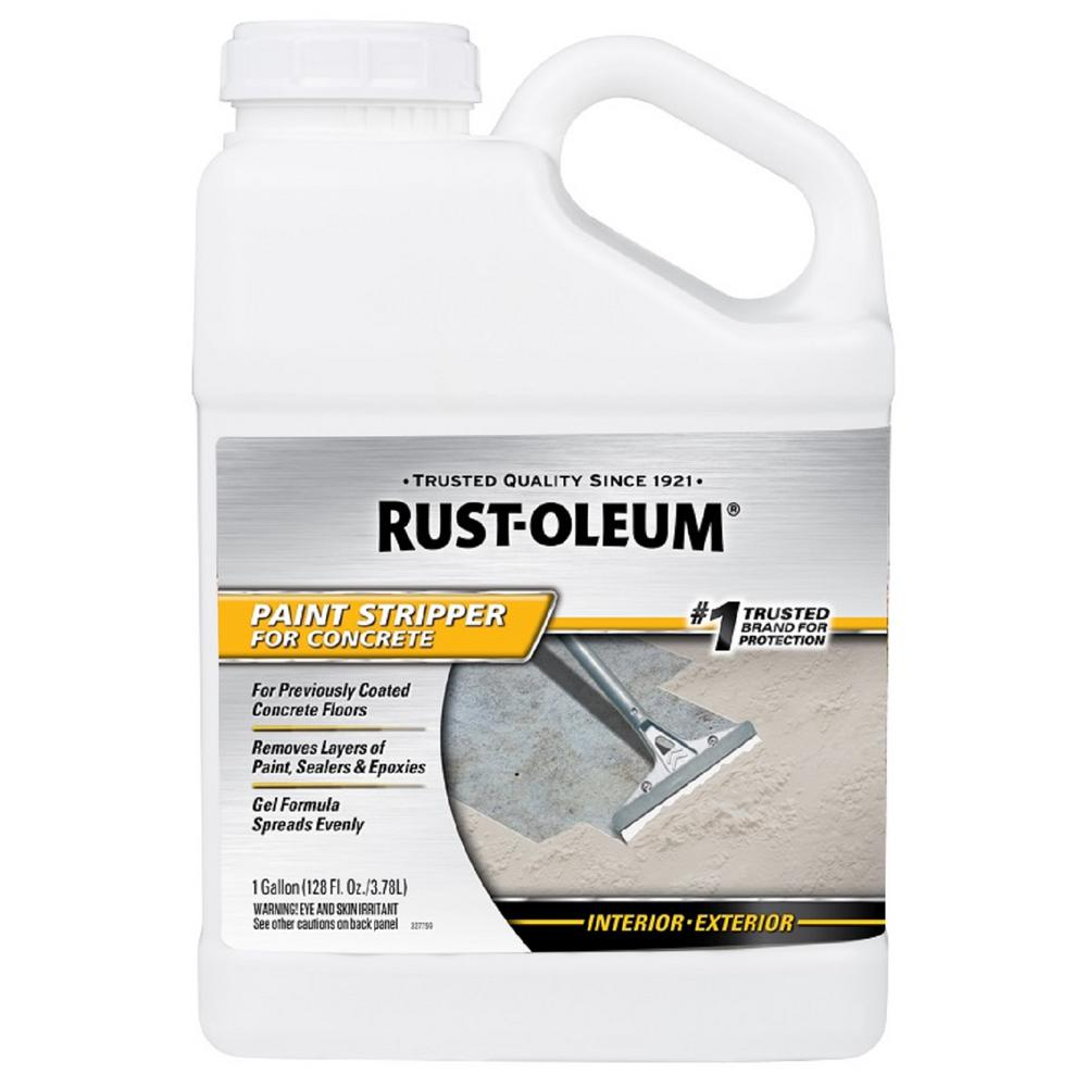 Paint Stripper Rust Oleum 1 Gal Paint Stripper For Concrete