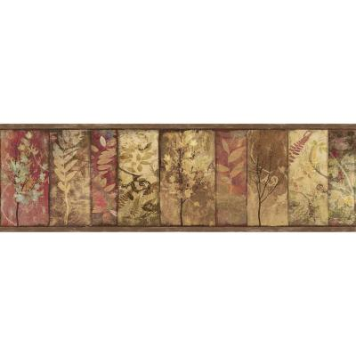 York Wallcoverings Lake Forest Lodge North American Animals Wallpaper Border-NM6633B - The Home ...