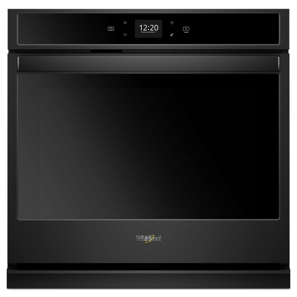 Whirlpool Oven Symbolen Whirlpool 27 In. Single Electric Wall Oven In Black