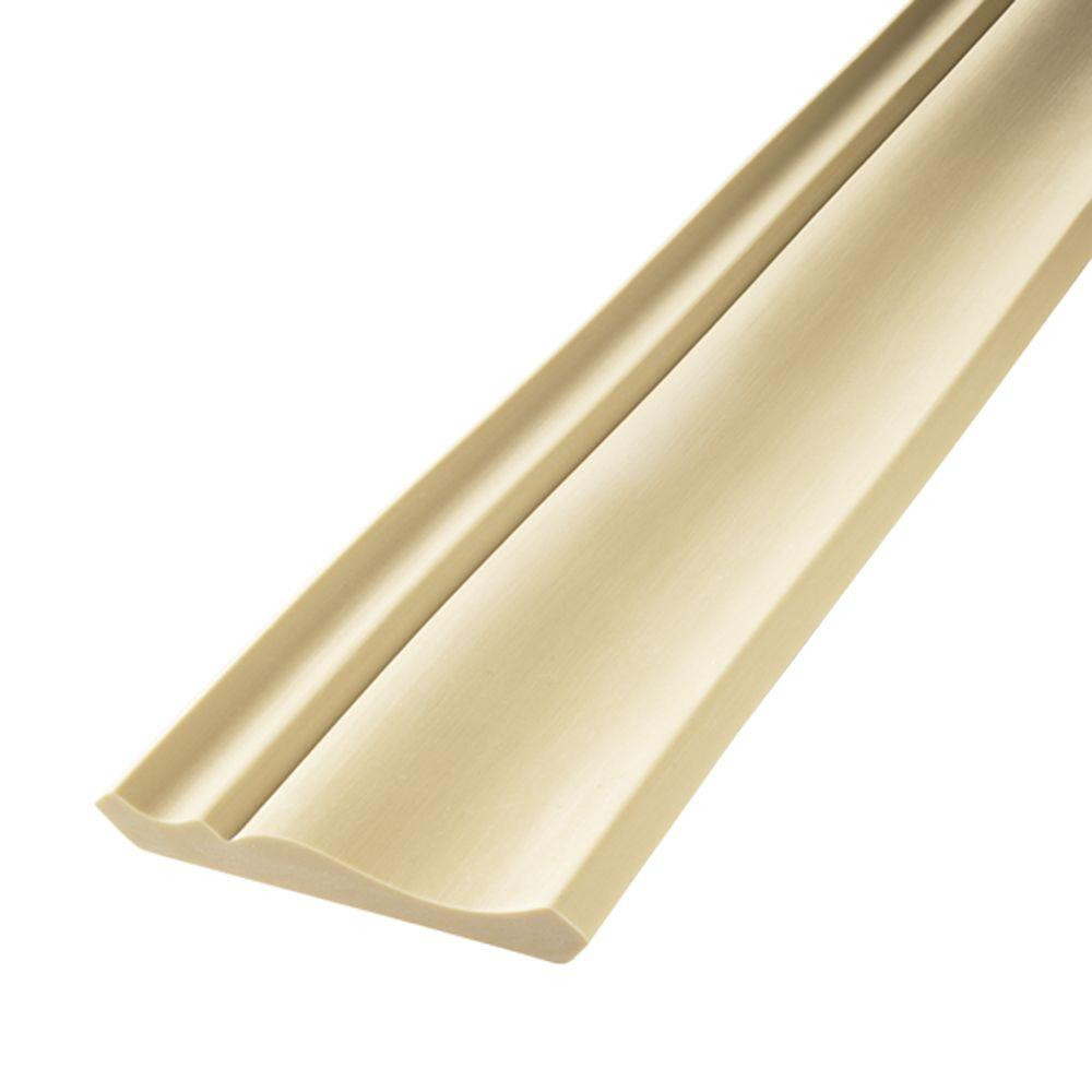 Crown Molding Cost Flex Trim Hd 052 9 16 In X 2 3 4 In X 144 In Polyurethane Flexible Crown Moulding