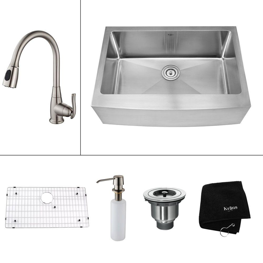 Stone Farmhouse Sink Lowest Price Farmhouse Apron Kitchen Sinks Kitchen Sinks The Home Depot