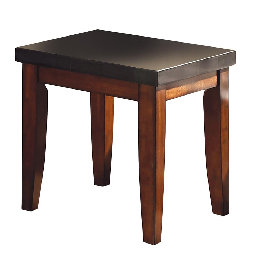Black End Tables With Drawer Granite Bello Black Granite Top End Table