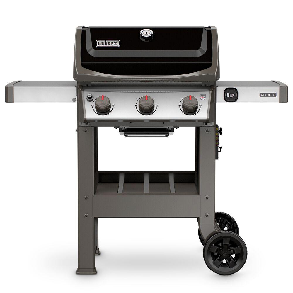 El Fuego Bellevue Spirit Ii E 310 3 Burner Propane Gas Grill In Black