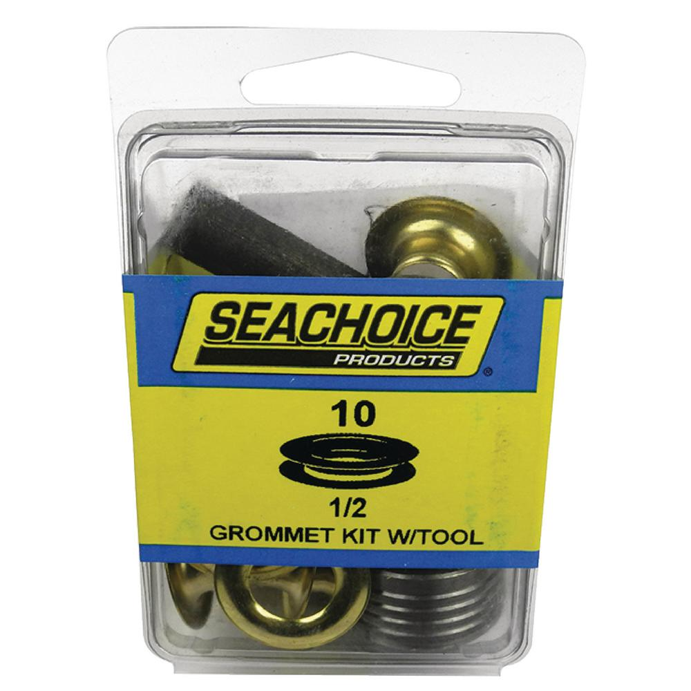 1 2 Grommet Seachoice 1 2 In Grommets Kit With Tool 10 Set