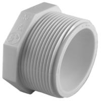 Charlotte Pipe 1-1/4 in. PVC Sch. 40 Plug-PVC 02113 1200HD ...