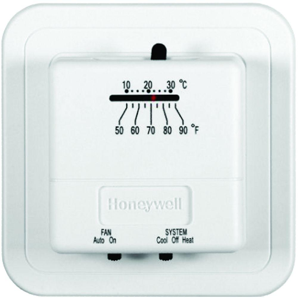 Heating Thermostat Economy Heat Cool Manual Thermostat