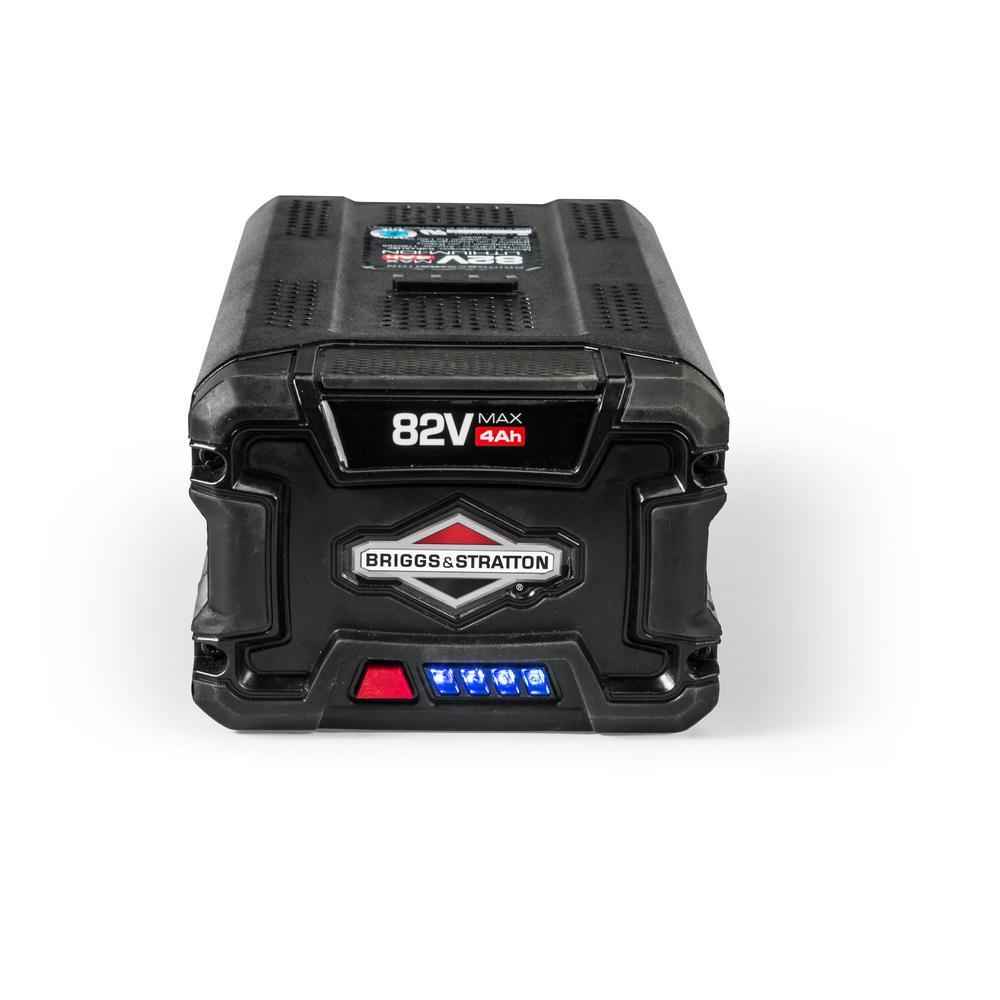 Briggs  Stratton 82-Volt MAX 40 Ah Lithium Ion Battery-1760265