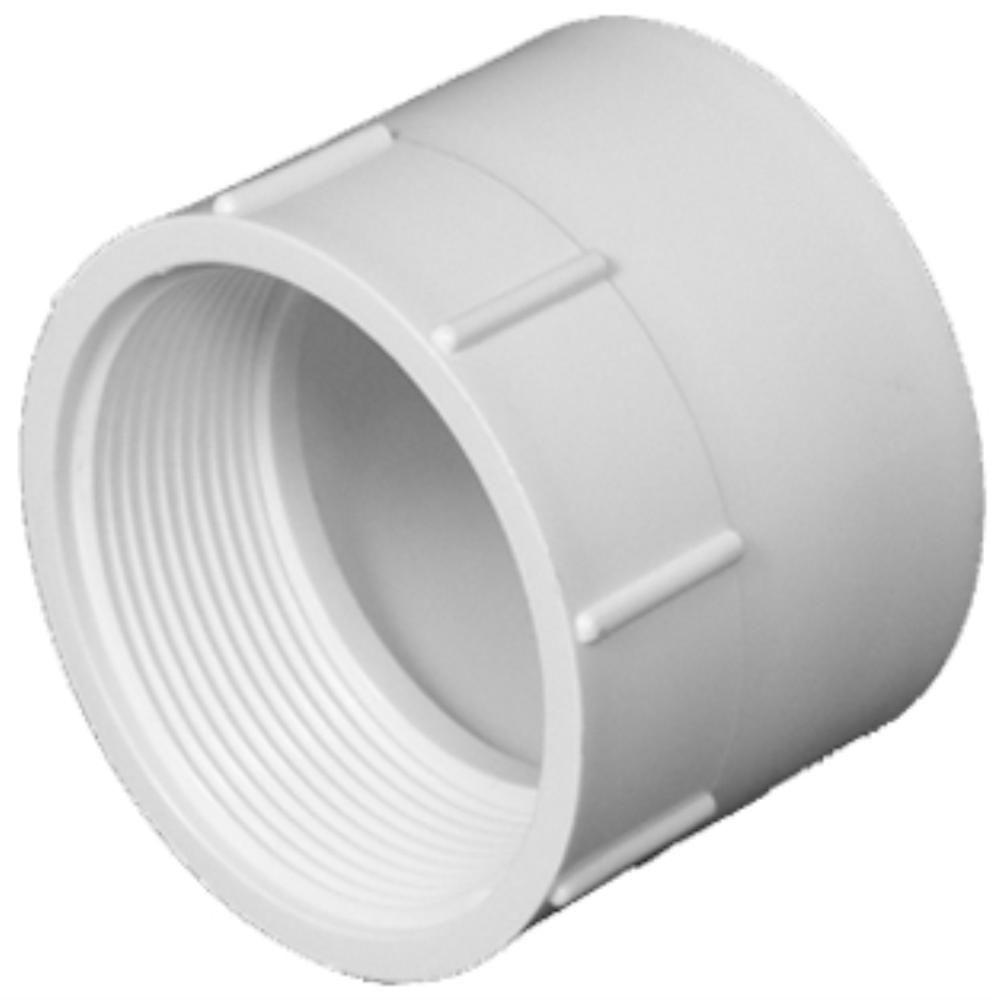 Pvc Joints 3 In Pvc Dwv Female Adapter