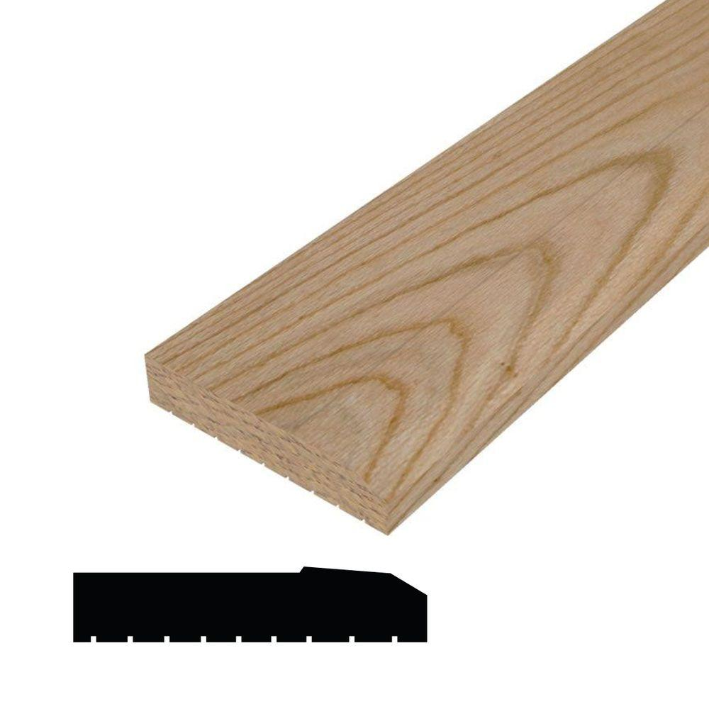 Home Depot Door Casing Alexandria Moulding 2842 2 In X 8 In X 42 In Oak Sill Nose Moulding