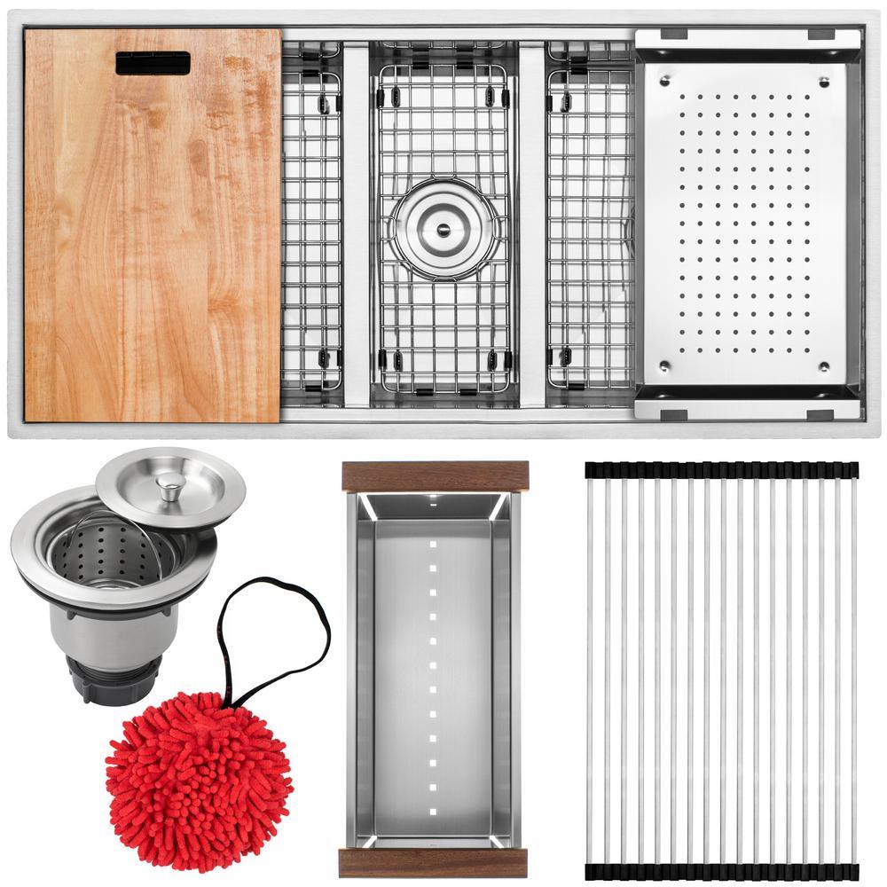 Triple - Kitchen Sinks - Kitchen - The Home Depot