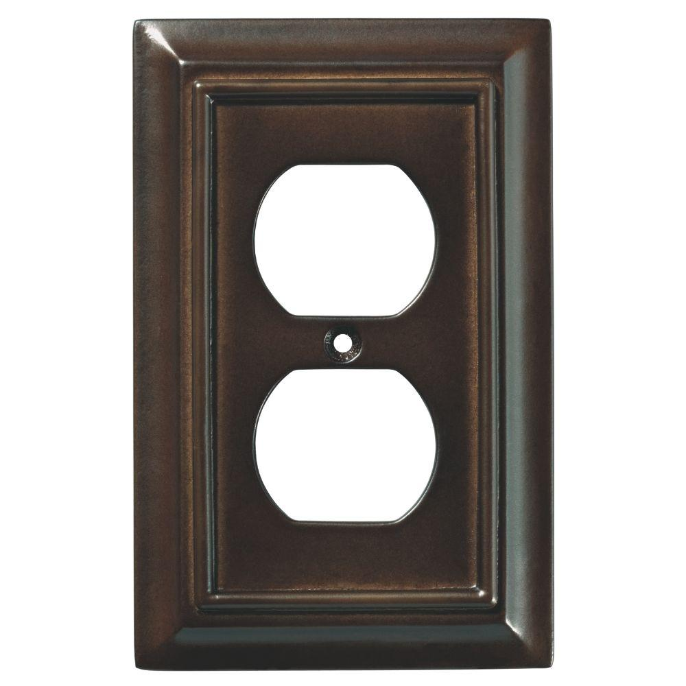Decorative Outlet Covers Liberty Architectural Wood Decorative Single Duplex Outlet