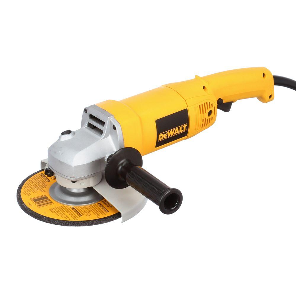 Dewalt Angle Grinder 13 Amp 7 In Heavy Duty Angle Grinder With Bag And Wheels