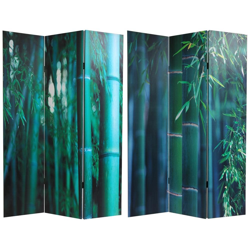 Mobile Raumtrenner 6 Ft Printed 3 Panel Room Divider