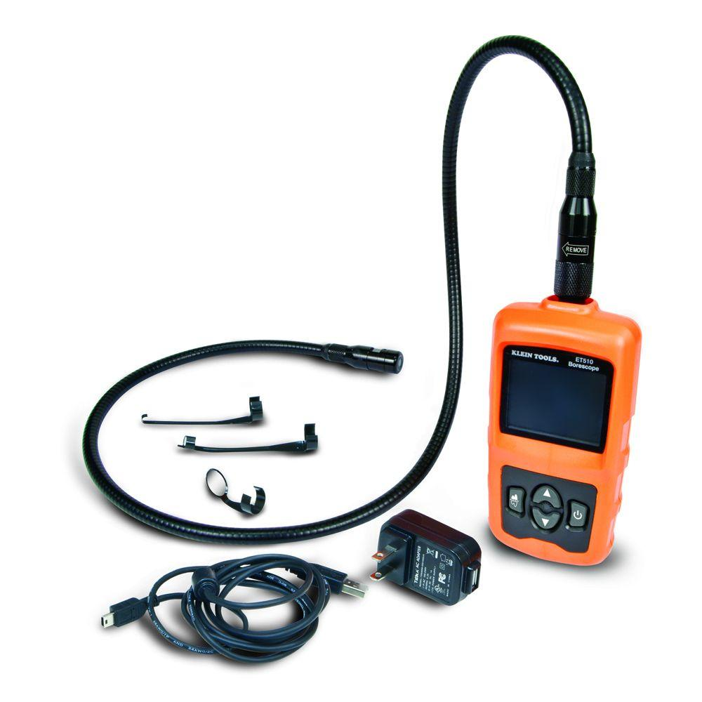 Klein Tools Borescope Inspection Waterproof Camera Et510 The - Borescope Camera