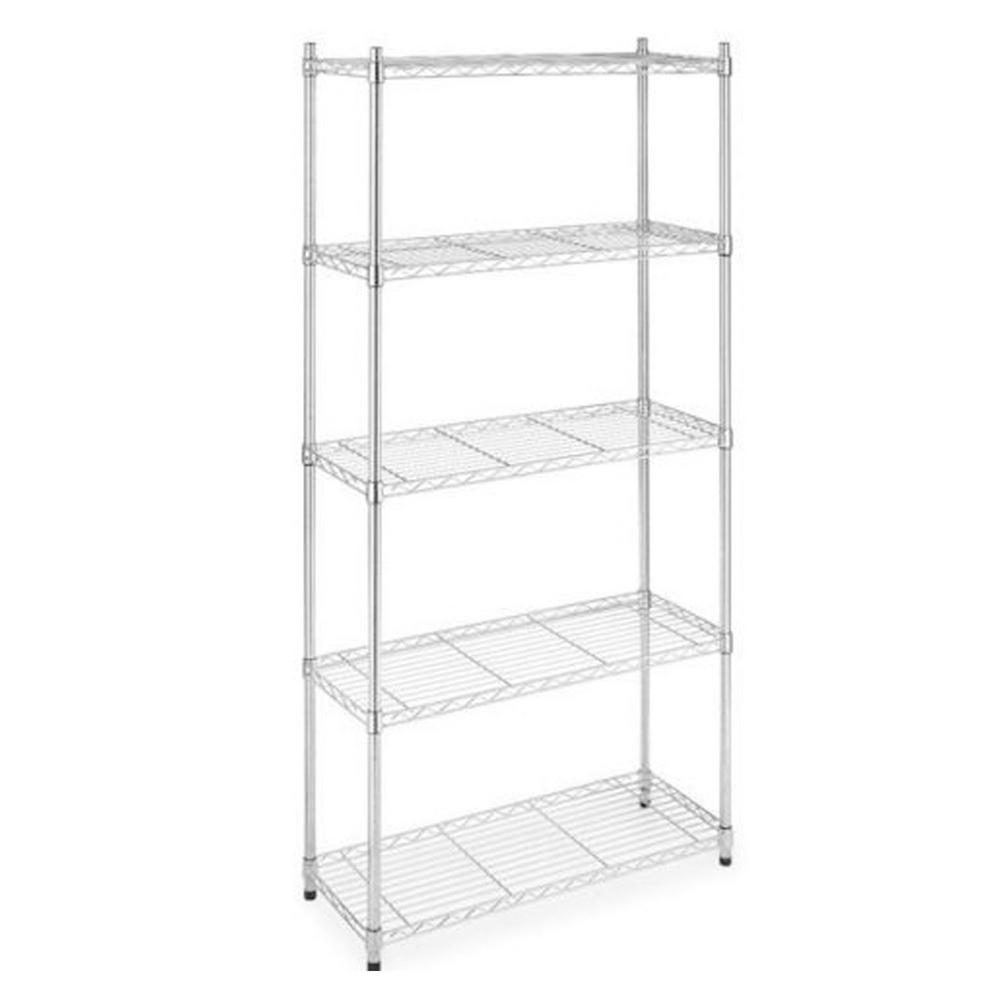 Metal Shelving Garage Shelves Racks Garage Storage The Home Depot