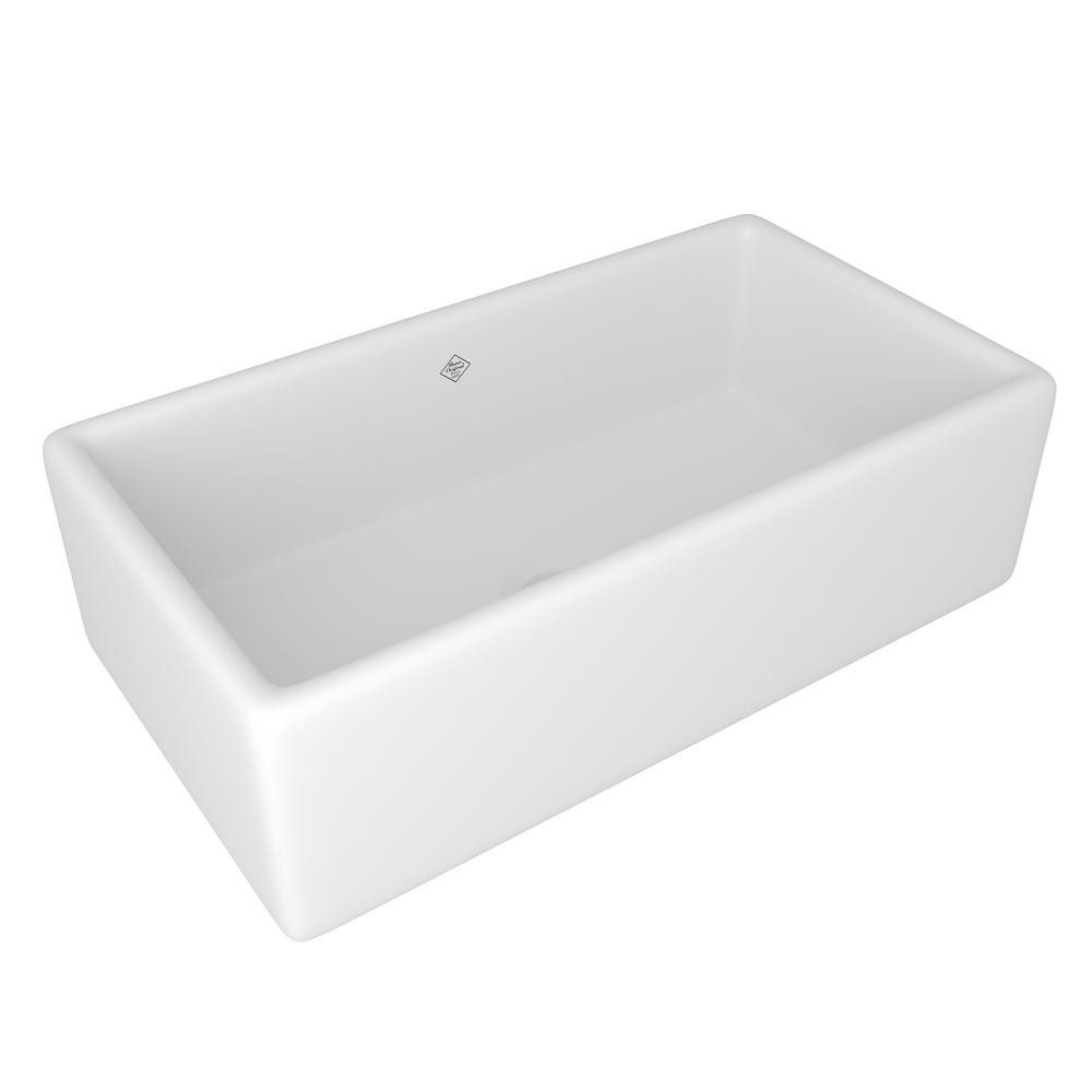 Shaw Farmhouse Sink Reviews Rohl Lancaster Farmhouse Apron Front Fireclay 33 In Single Bowl Kitchen Sink In White
