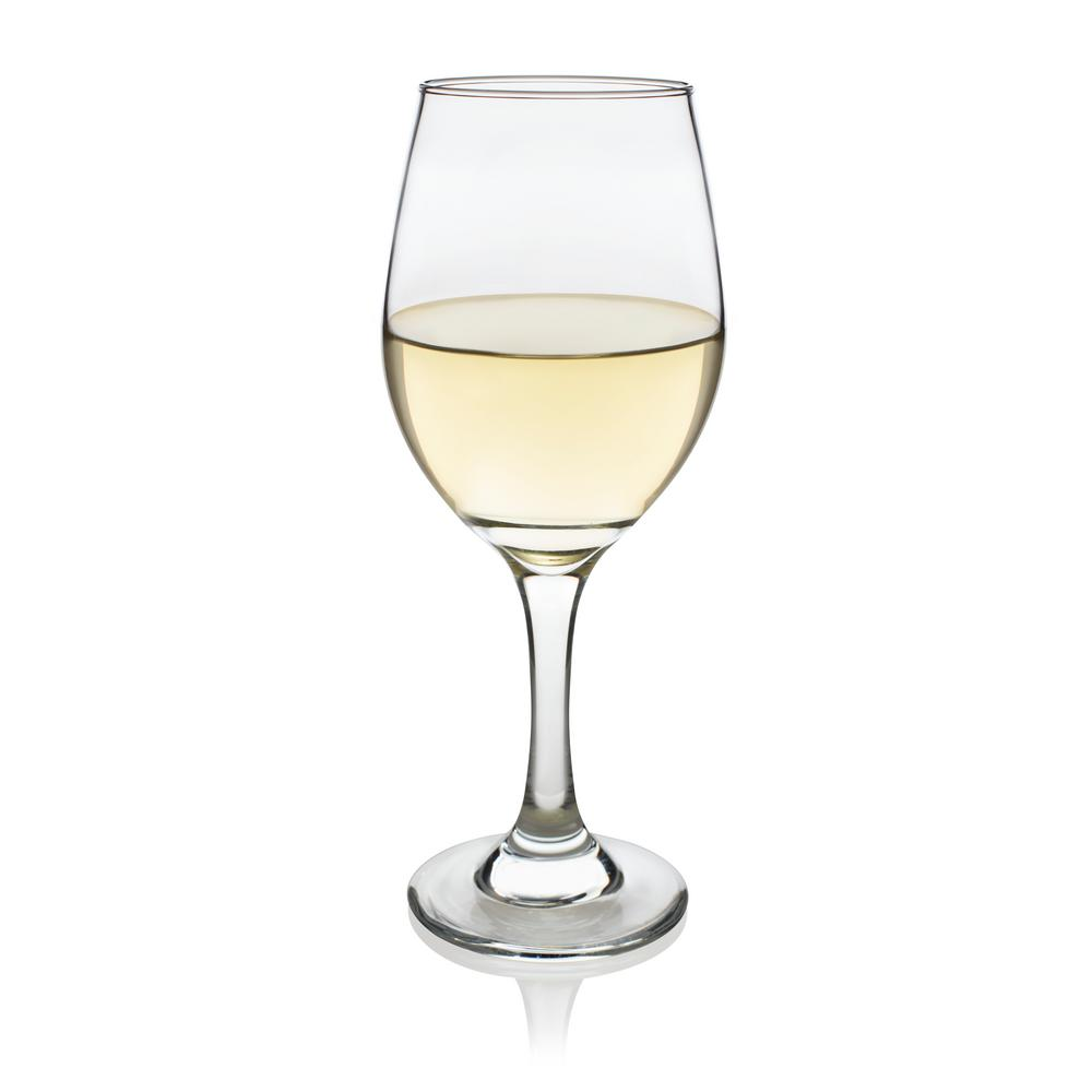 Chardonnay Wine Glass Libbey Basics 4 Piece White Wine Glass Set