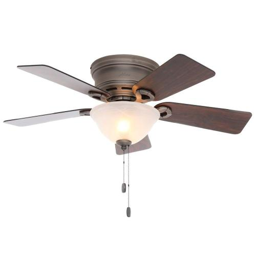 Attractive Pewter Low Profile Ceiling Fan Light Kit Hunter Conroy Pewter Low Profile Ceiling Fan Home Depot Ceiling Fans Harbor Breeze Home Depot Ceiling Fans On Sale