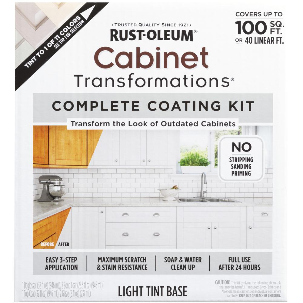 Used Kitchen Cabinets Red Deer Rust Oleum Transformations Light Color Cabinet Kit 9 Piece