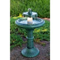 Alpine Fountain with Light-TEC102 - The Home Depot