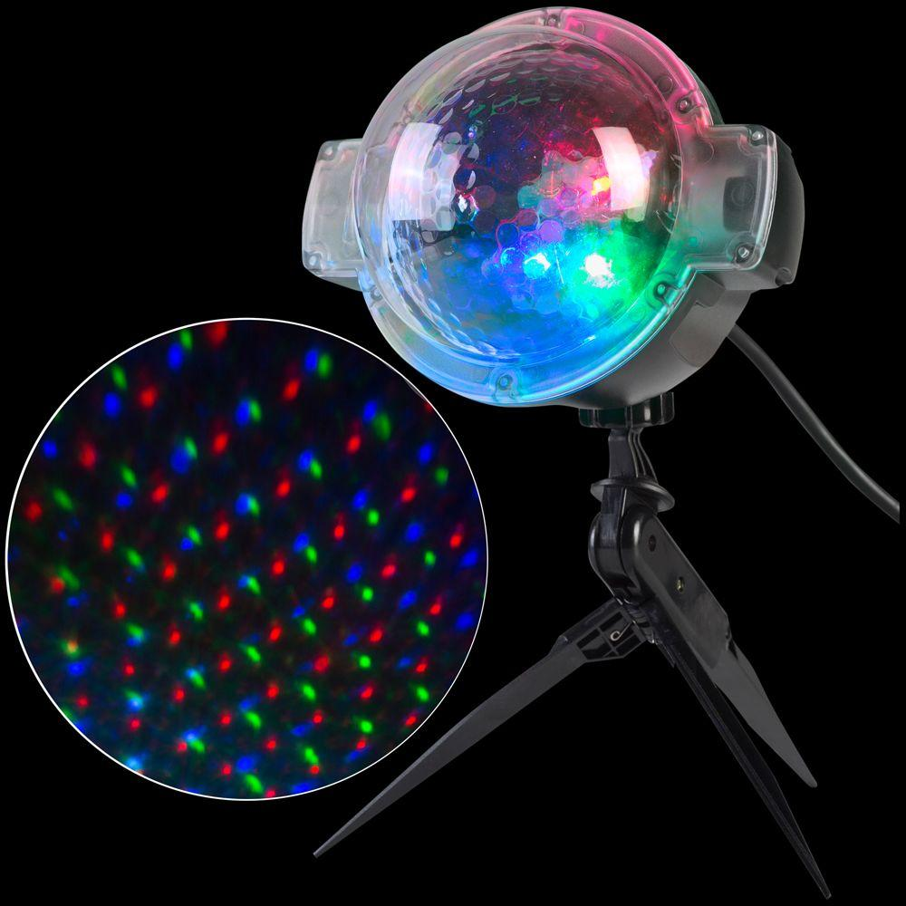 Light Projector Applights Led Projection Snowflurry 49 Programs Stake Light