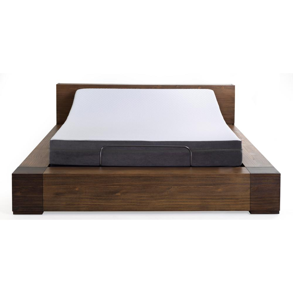 Beds Memory Foam Mattress Blissful Nights 8 In Daisy Queen Memory Foam Mattress And M1500 Adjustable Base Set