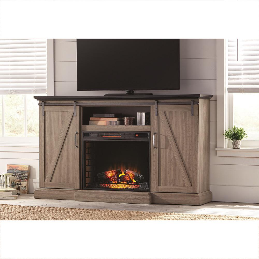 Fireplace Tv Stand Home Depot Freestanding The Home Depot