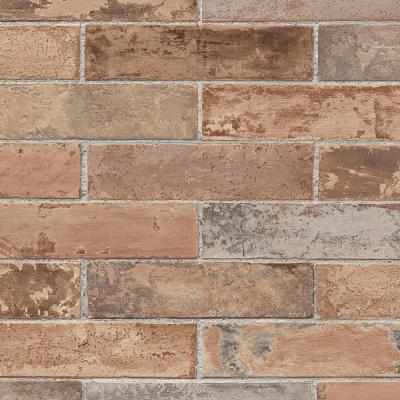 Red Realistic Pre-Pasted Brick Wallpaper-LL29534 - The ...