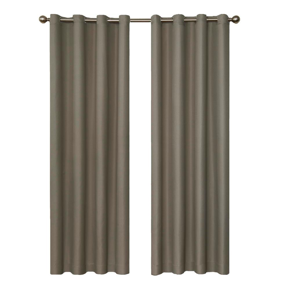 94 Inch Blackout Curtains Eclipse Dane Blackout Smoke Curtain Panel 95 In Length Price Varies By Size