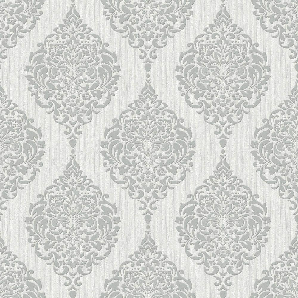 Fall Textured Wallpaper Grey Wallpaper Decor The Home Depot