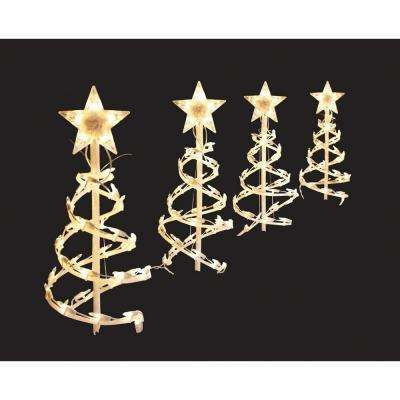Lights - Christmas Path Lights \ Yard Stakes - Outdoor Christmas - home depot outdoor christmas decorations