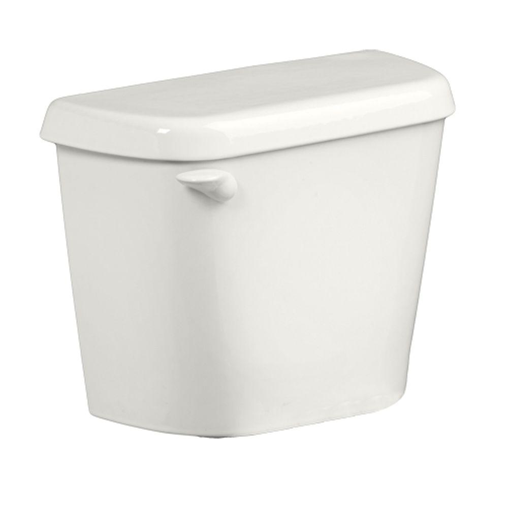 Commode Angle Colony 1 6 Gpf Single Flush Toilet Tank Only For 12 In Rough In White