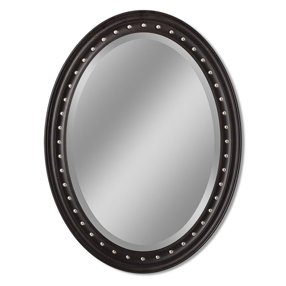 Oval Mirror Wood Frame Details About Mirror Wall Mount Durable Light Weight Oval Wood Frame Fog Resistant Sturdy