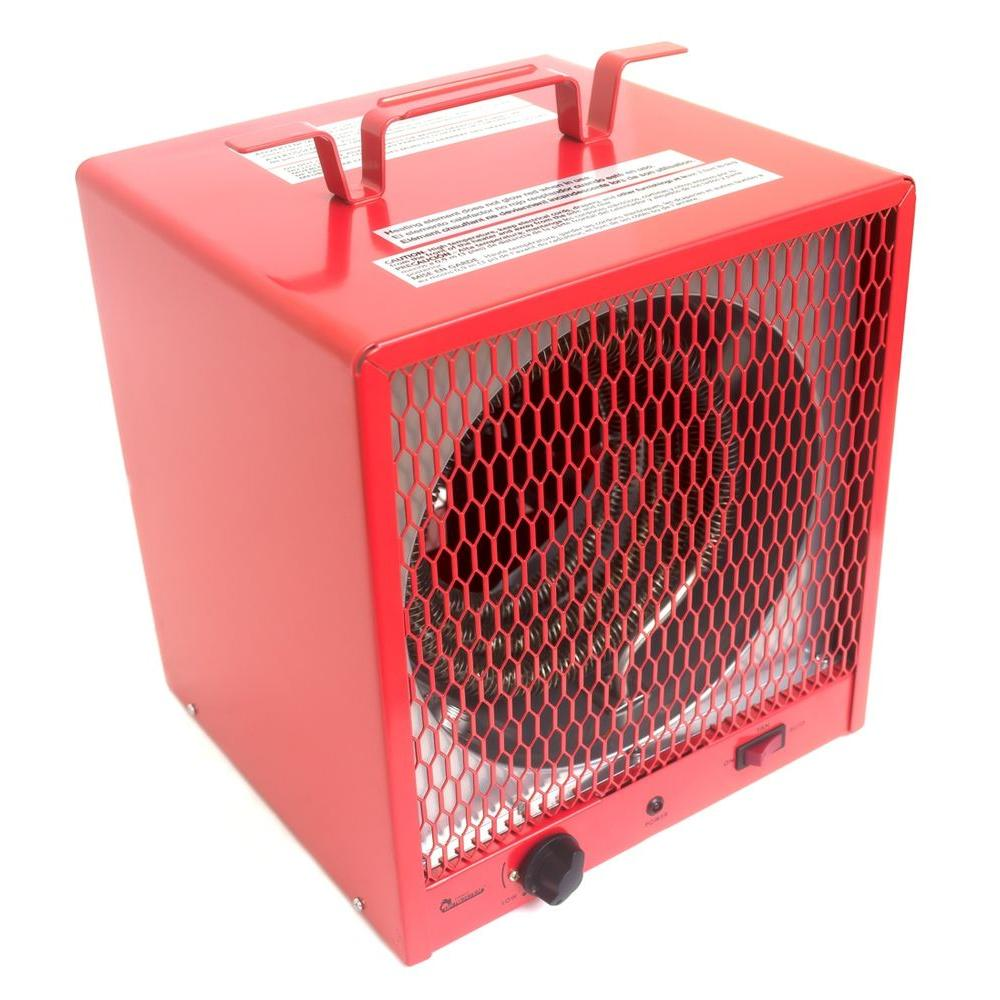 Garage Heater With Wall Thermostat Dr Infrared Heater Industrial Series 5600 Watt 240 Volt Portable Garage Heater With Thermostat