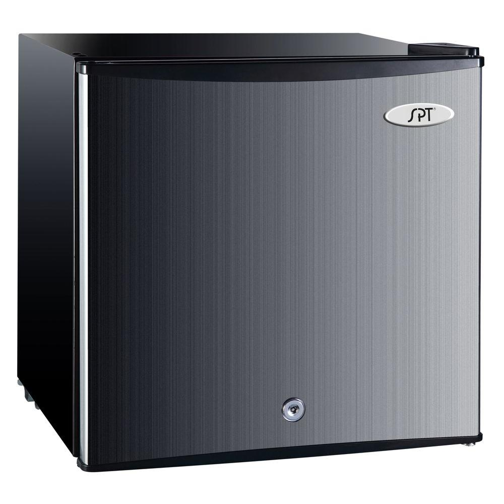 Small Stand Up Freezer Spt 1 1 Cu Ft Upright Compact Freezer In Stainless Steel Energy Star