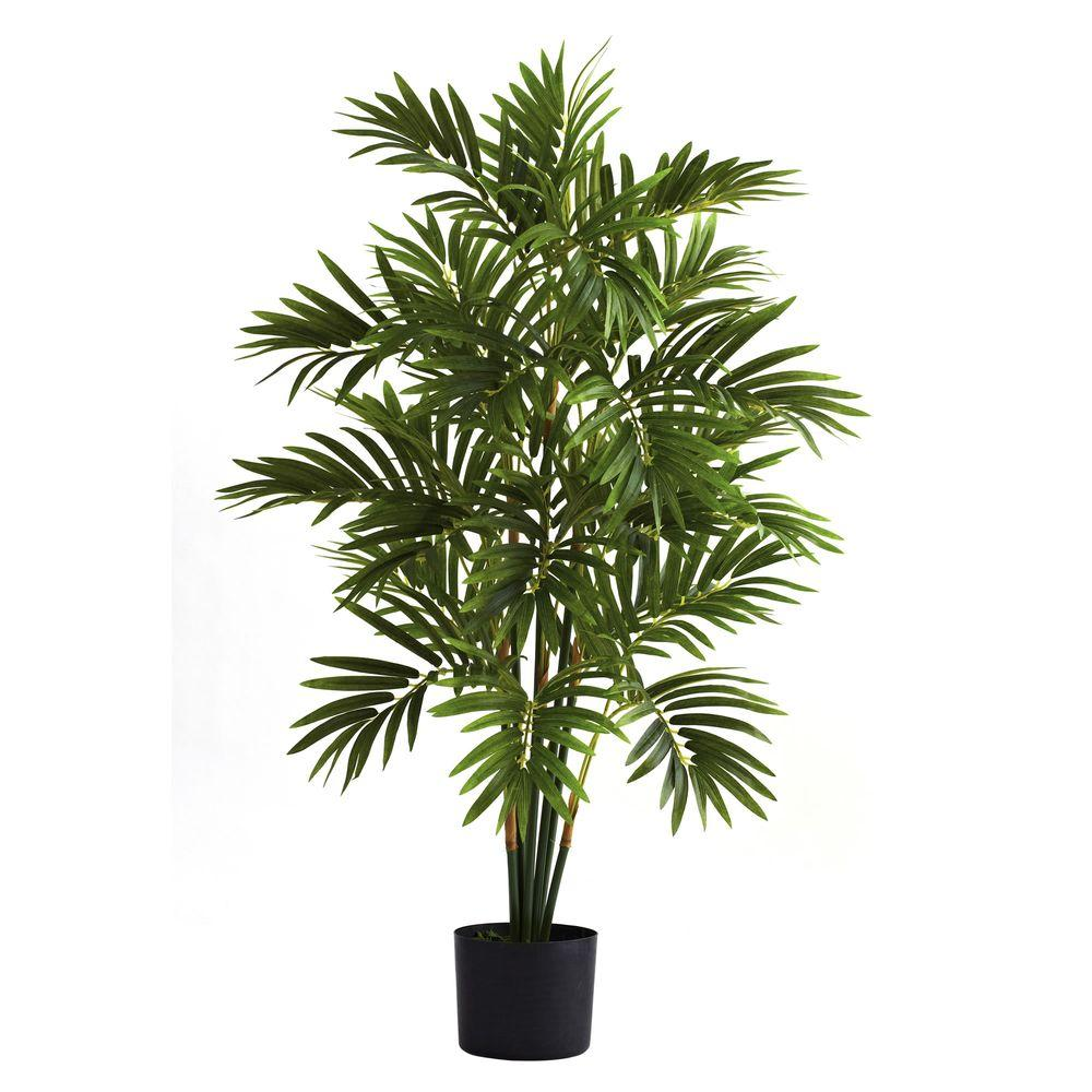 Home Depot Palm Trees Nearly Natural 3 Ft Areca Palm Tree