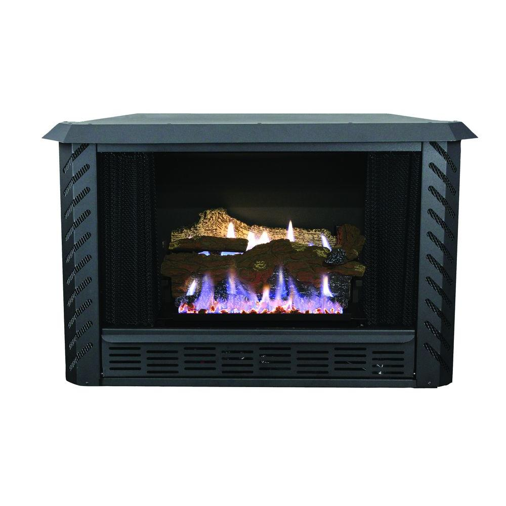 Fireplace Insert Blower Fan Ashley Hearth Products 34 000 Btu Vent Free Firebox Lp Propane Gas Stove