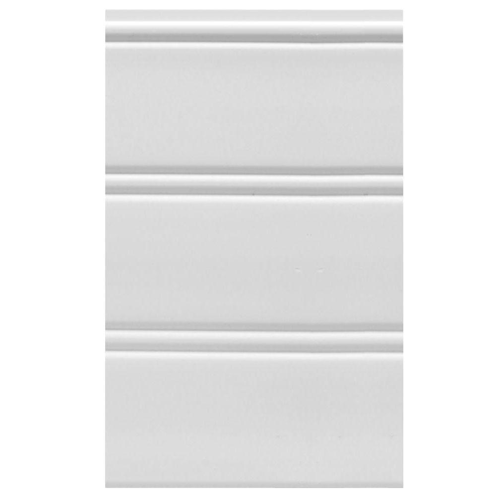 White Wall Paneling Boards Planks Panels The Home Depot