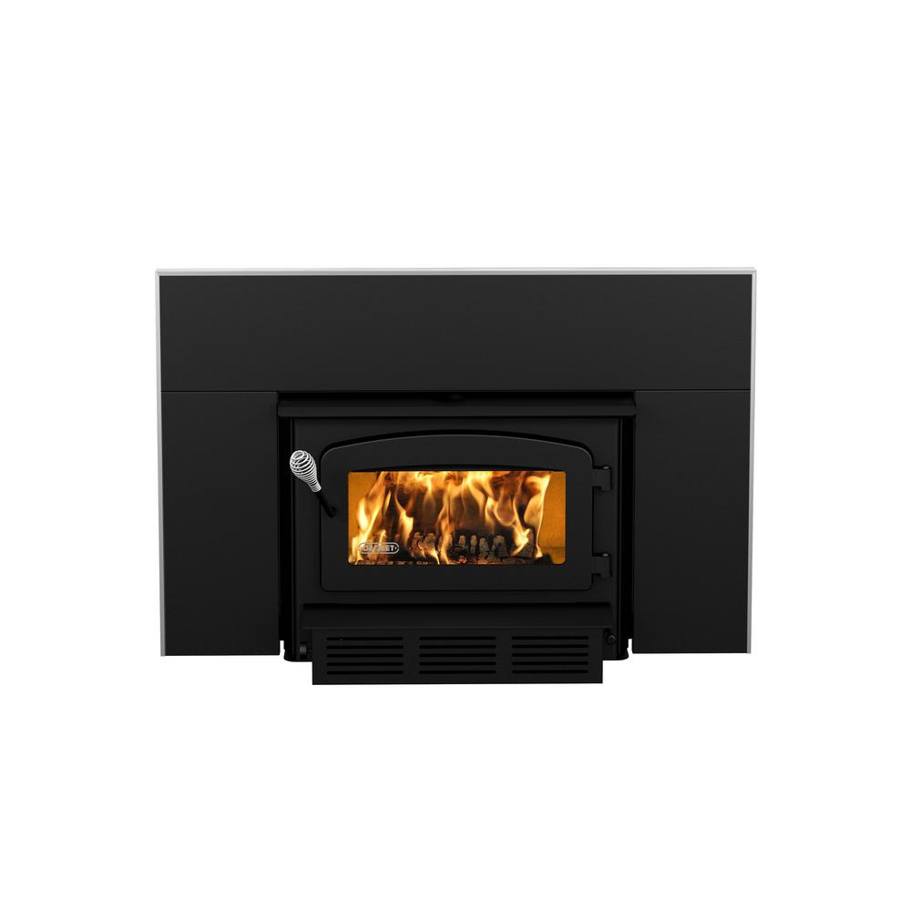Insert Double Combustion Escape 1400 I 29 In Epa Certified Wood Burning Insert Trio