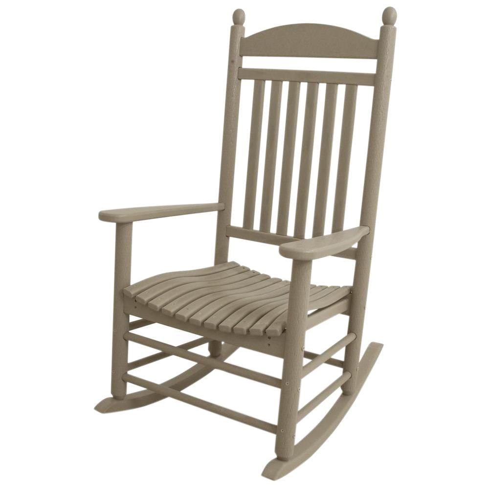 Best Place To Buy Rocking Chairs Polywood Jefferson White Patio Rocker
