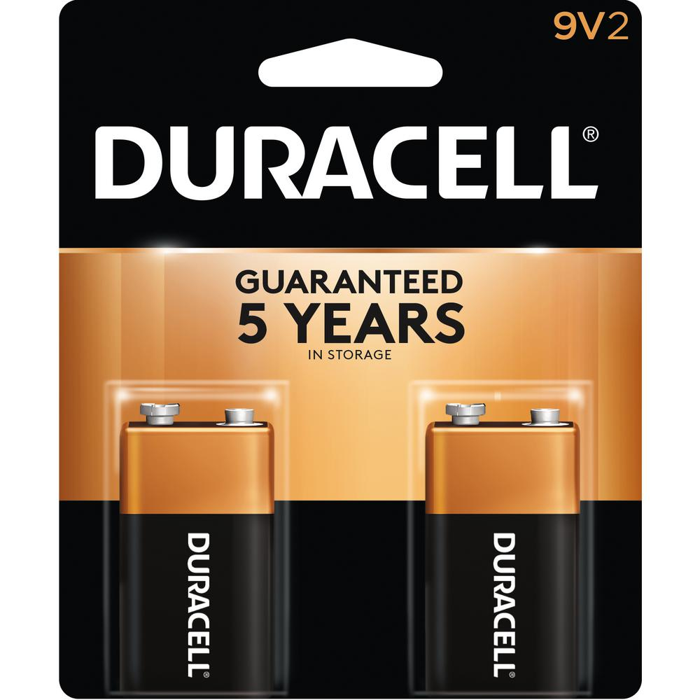 9 Volt Batterie Coppertop Alkaline 9 Volt Battery 2 Per Pack