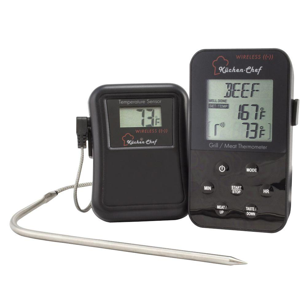 Einbauradio Küche Tfa Kuchen Chef Radio Controlled Grill And Meat Thermometer