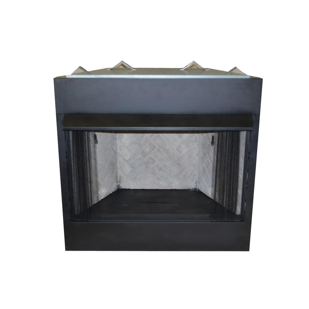 Free Fireplace Insert Emberglow 42 In Vent Free Natural Gas Or Liquid Propane Circulating Firebox Insert