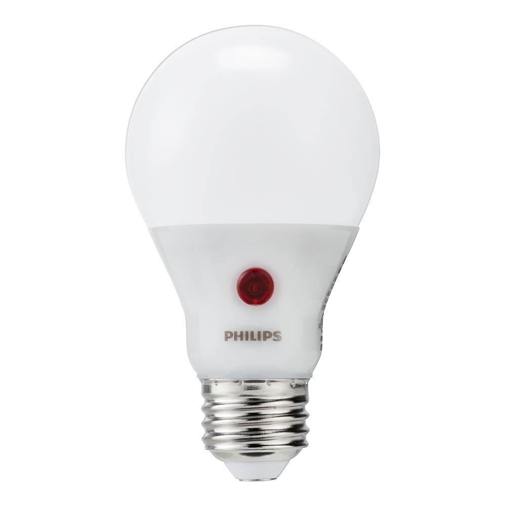 Bulb Led Screw Philips 60 Watt Equivalent A19 Dusk To Dawn Automatic On Off Energy Saving Led Light Bulb Soft White 2700k