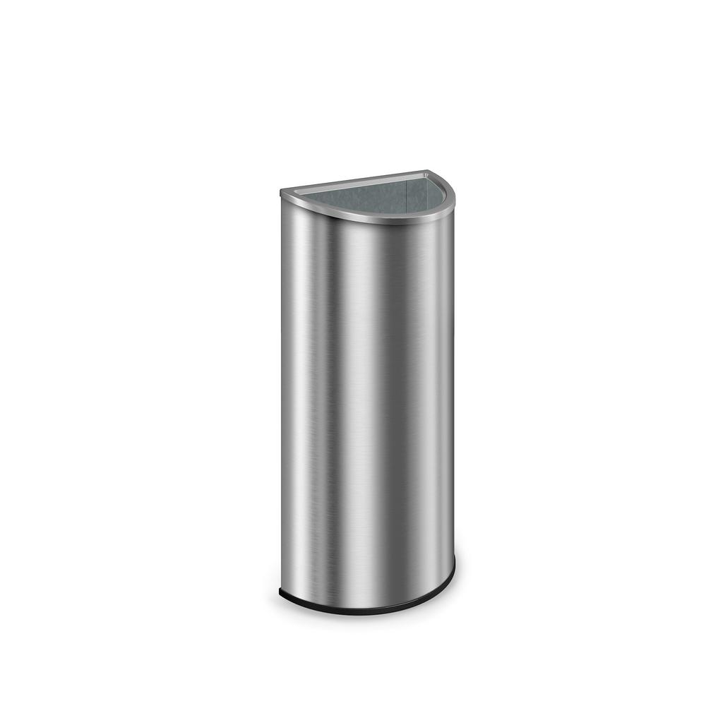 Metal Indoor Trash Can Suncast Commercial 12 Gal Metal Cresent Indoor Trash Can