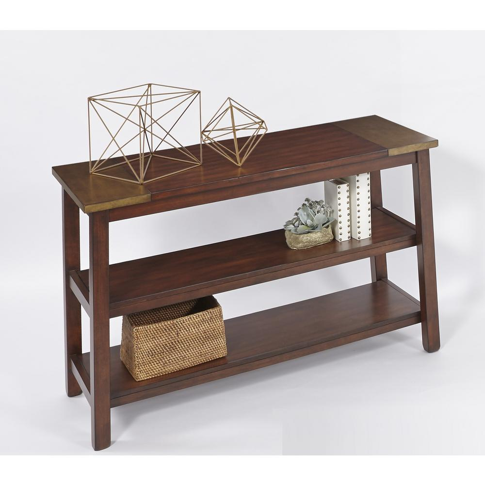 Furniture Storage Sydney Progressive Furniture Sydney Dark Ash And Copper Metal Sofa Console Table