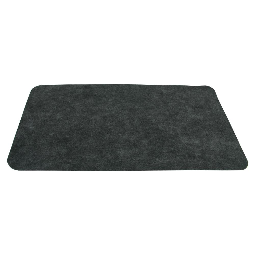 Drymate Garage Floor Mat Review Drymate 30 In X 58 In Maintenance Mat Charcoal Gray